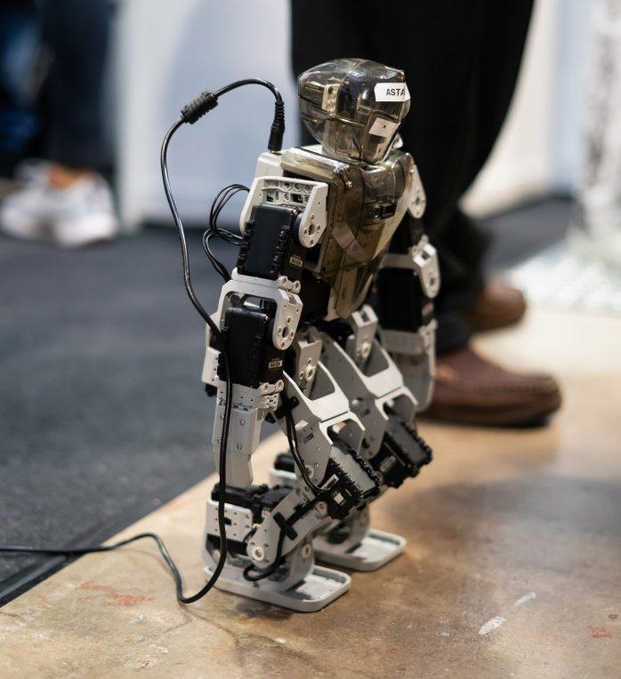 3D printed robot prototype